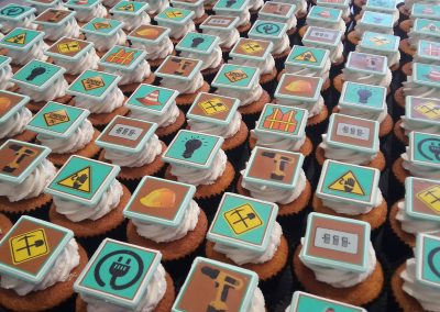 Electrical Construction Cupcakes