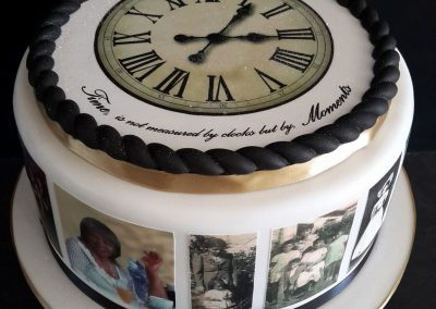 Vintage Clock Cake