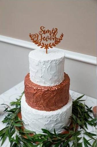 Sime & Devon Wedding Cake