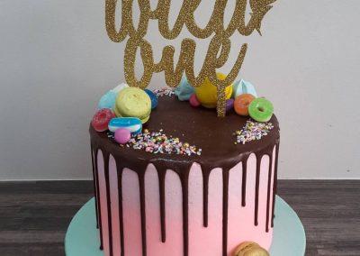 Wild One Tribal Cake