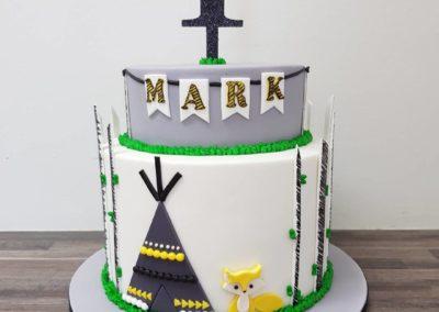 Tribal Cake