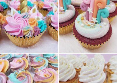 Unicorn Party Cupcakes