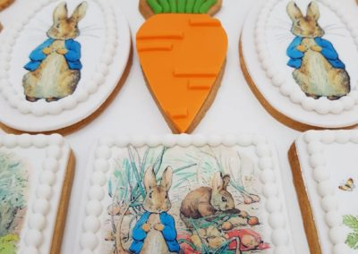Peter Rabbit Party Cookies